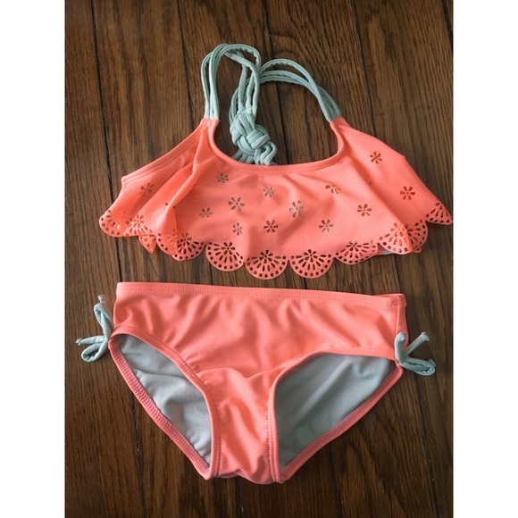 46eeb72195 Cat & Jack Swim | Girls Two Piece Suit | Poshmark